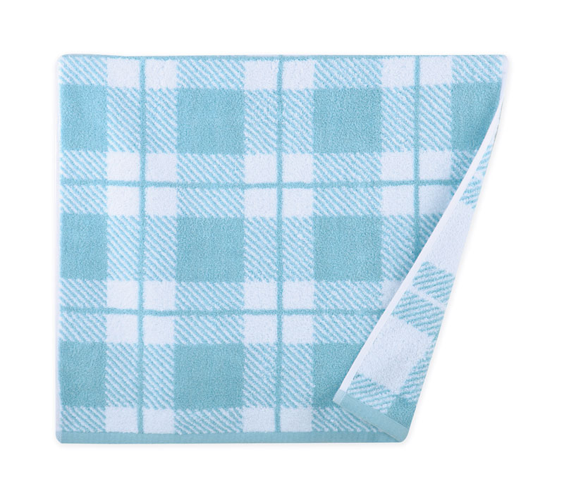 Πετσέτα προσώπου 50x90 Square blue Bathroom collection - Nef Nef