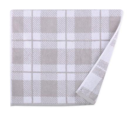 Πετσέτα προσώπου 50x90 Square grey Bathroom collection - Nef Nef
