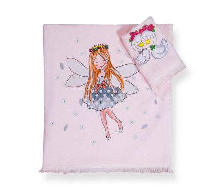 Σετ πετσέτες Swan love Junior Towels Collection - Nef-Nef