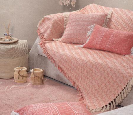 Ριχτάρι διθέσιου καναπέ 180x250 Nigrit Coral Living Room Collection - Nef-Nef