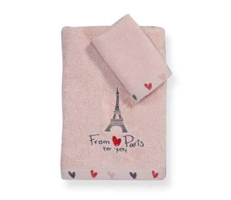 Σετ πετσέτες From Paris Junior Towels Collection - Nef-Nef