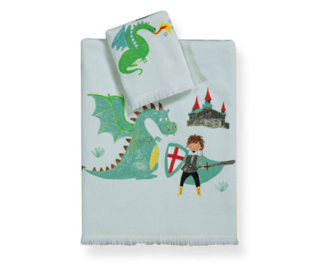 Σετ πετσέτες Knight tales Junior Towels Collection - Nef-Nef