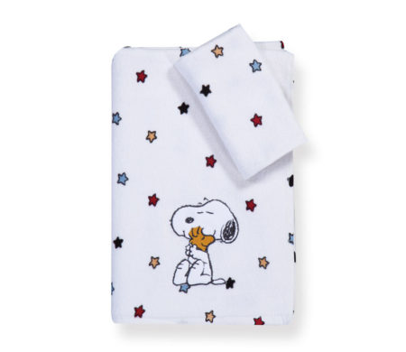 Σετ πετσέτες Snoopy rainbow Junior Towels Collection - Nef-Nef