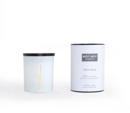 Αρωματικό κερί White Musk Living Collection - Nef-Nef