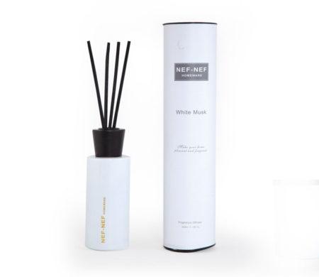 Αρωματικό χώρου με sticks White Musk Home Fragrances Collection - Nef-Nef