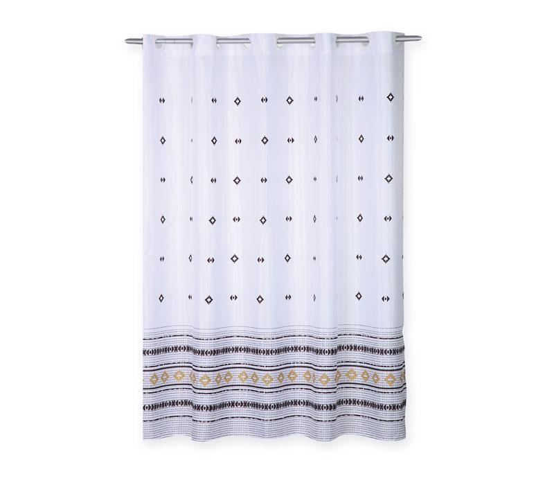 Kουρτίνα μπάνιου (180×200) Perez White Bath Collection – Nef-Nef