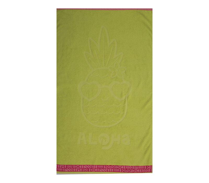 Πετσέτα θαλάσσης (70x120) Pineapple Dream Lime Beach Collection - Nef-Nef