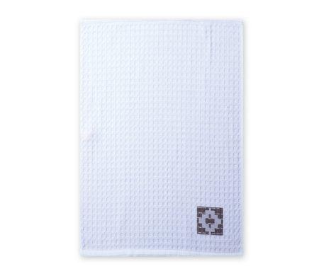 Ποτηρόπανο πικέ (45x68) Perez White Kitchen Collection - Nef-Nef