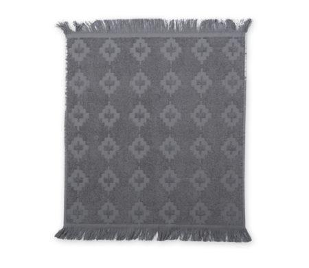 Ποτηρόπανο φροτέ (50x50) Perez Grey Kitchen Collection - Nef-Nef
