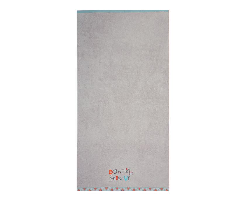 Πετσέτα θαλάσσης (70x130) Dont Grow Up Grey Beach Collection - Nef-Nef