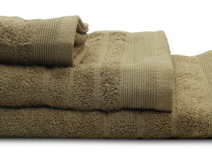 Πετσέτες μπάνιου (σετ 3τμχ) sunshine 500gsm olive 10