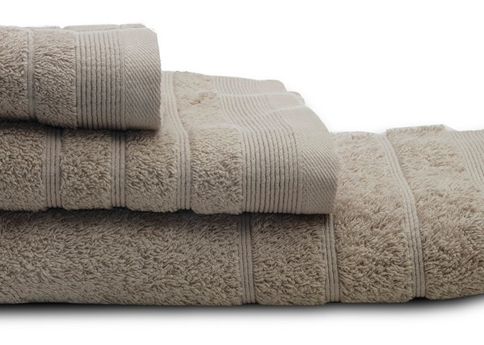 Πετσέτες μπάνιου (σετ 3τμχ) sunshine 500gsm m.beige 11
