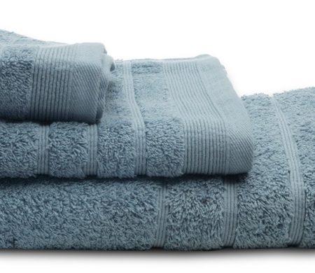 Πετσέτες μπάνιου (σετ 3τμχ) sunshine 500gsm aqua 19