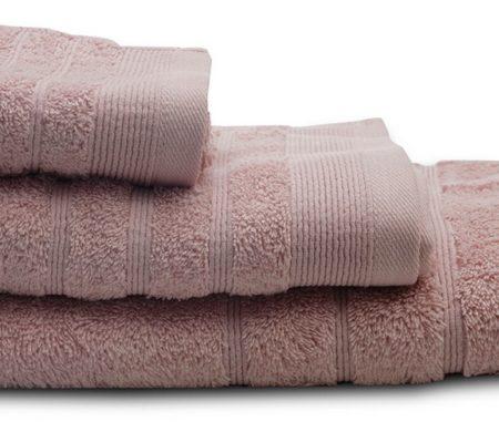 Πετσέτες μπάνιου (σετ 3τμχ) sunshine 500gsm powder 23