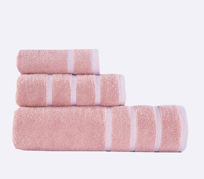 Πετσέτες Σετ (3τμχ) Madison Apple/White Bath collection - Nef-Nef