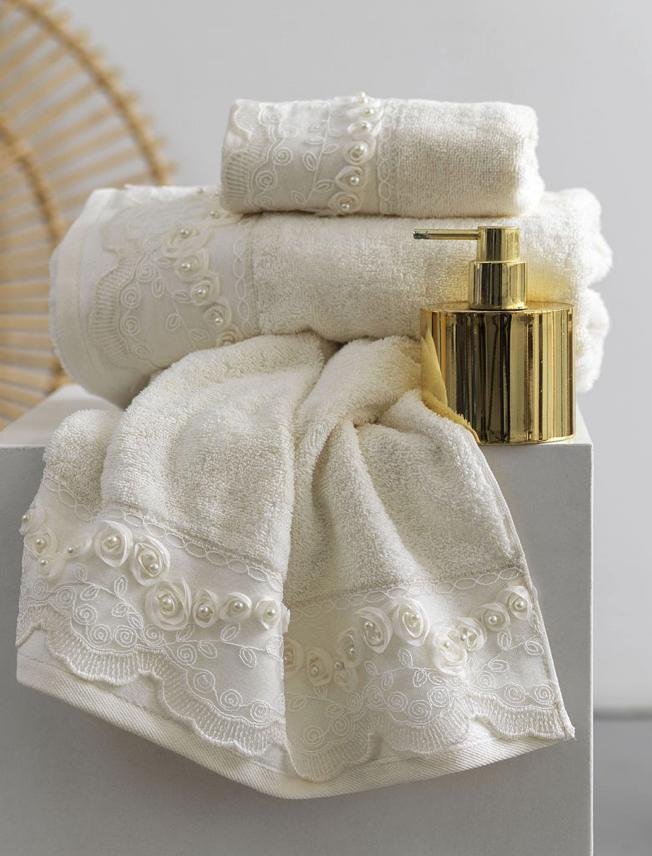Σετ Πετσέτες Μπάνιου (3 τμχ) Palamaiki Towels Collection RUDDY