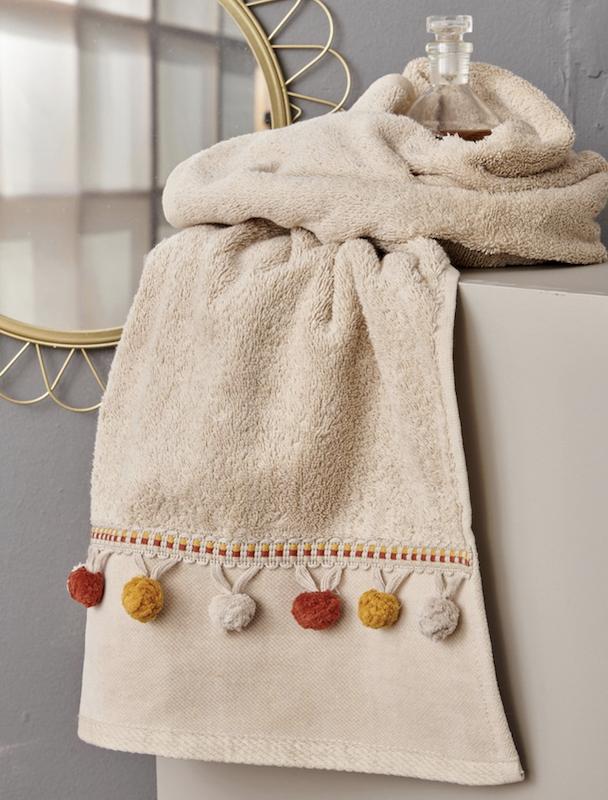 Σετ Πετσέτες Μπάνιου (3 τμχ) Palamaiki Towels Collection SARTE