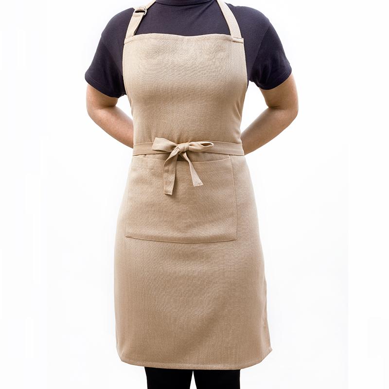 Ποδιά Κουζίνας (60Χ76) Melinen Solid Beige