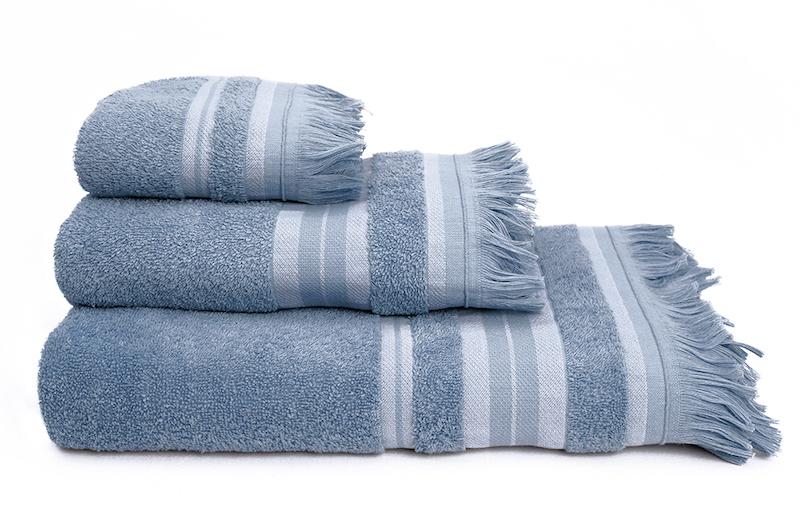 Πετσέτες Μπάνιου (Σετ 3τμχ) Melinen Yoga Ριγέ Jean