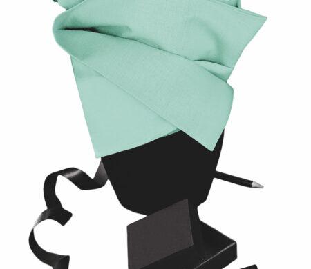 Σεντόνι Διπλό-Υπέρδιπλο με Λάστιχο (160Χ200+30cm) Μονόχρωμο Mint Melinen Urban