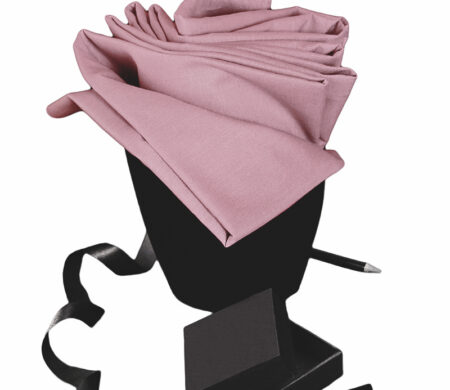 Σεντόνι Διπλό Υπέρδιπλο Flat (205X260) Μονόχρωμο Rose Melinen Urban