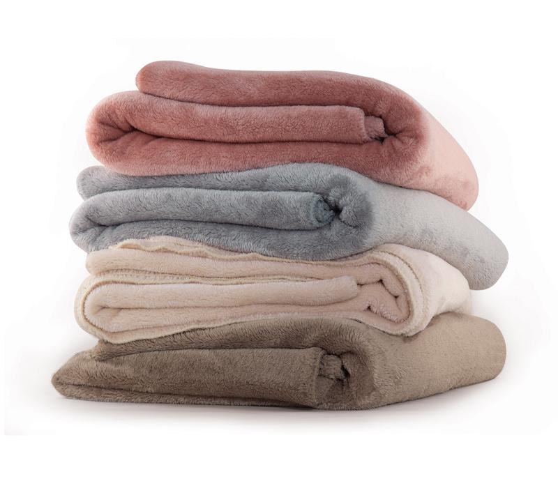 Κουβέρτα Υπέρδιπλη 240Χ220 Nef Nef Fleece Γουνάκι Nasty
