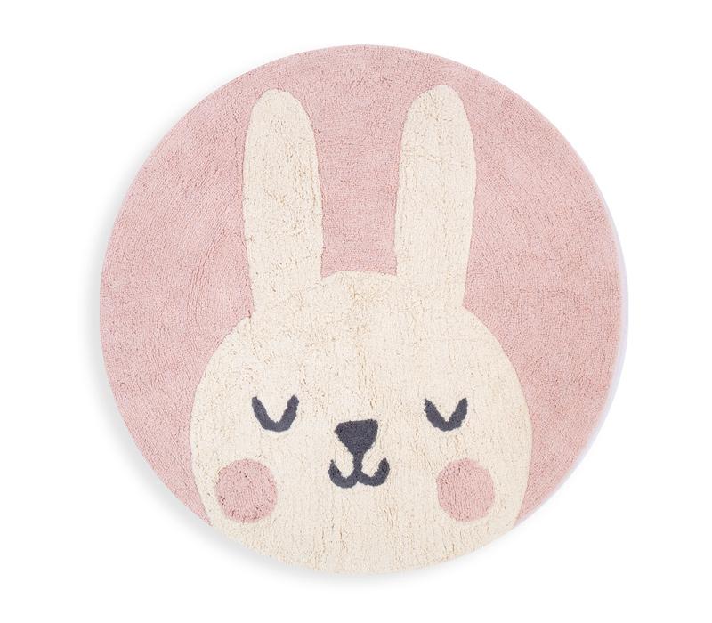 Βρεφικό Χαλί D.120cm Nef Nef Bunny Pink
