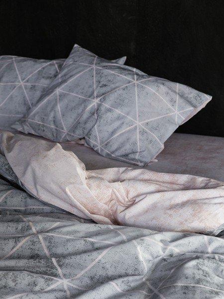 Μαξιλαροθήκες (Σετ 2 τμχ 52Χ72) Nima Bedlinen Swank Gray