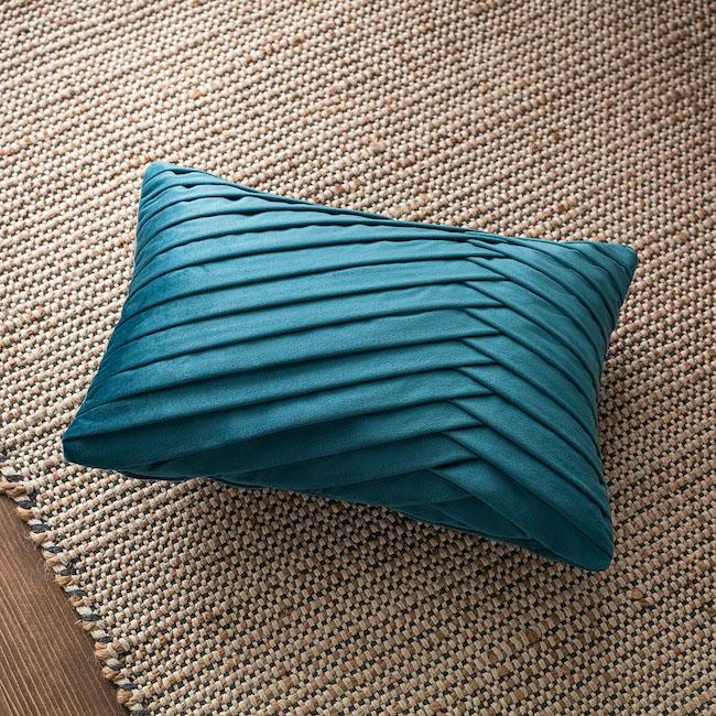 Μαξιλαροθήκη 30X45Cm Gofis Home Milena Μπλε 635B/ 09