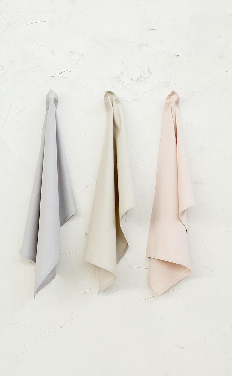 Πετσέτες Κουζίνας (Σετ 3 τμχ) Nima Dining Peppy