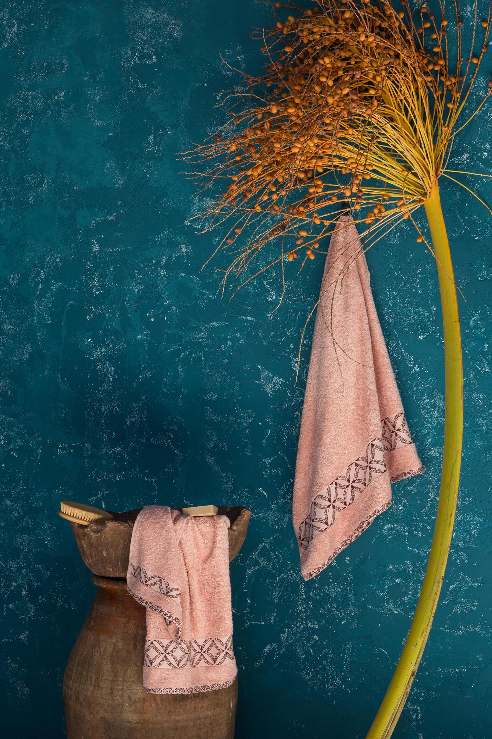 Πετσέτες Μπάνιου (Σετ) Nima Bath Leona Pink